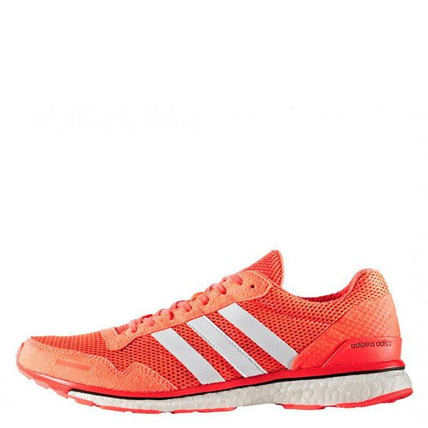 【EST S】Adidas Adizero Adios 3 AQ2429 橘色 馬牌底 慢跑鞋 運動鞋 G1021