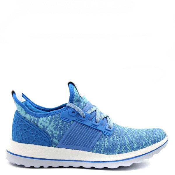 【EST S】Adidas Pureboost Zg Mesh AQ2932 水藍 紋路 慢跑 G1021