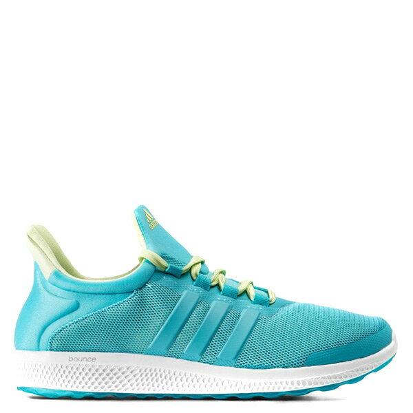 【EST S】Adidas CC Sonic Bounce AQ4715 彈性慢跑鞋 襪套 水藍白鵝黃 G1021