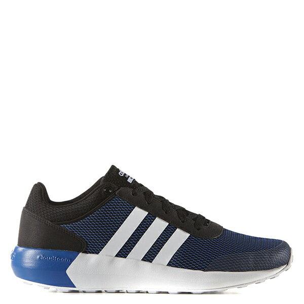 【EST S】Adidas Cloudfoam Race AW5326 慢跑鞋 黑藍 G1111
