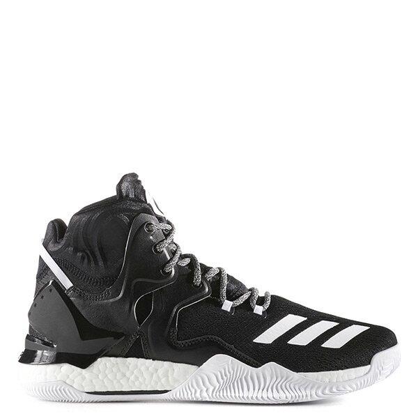 【EST S】Adidas D Rose 7 Boost B72905 玫瑰 高筒籃球鞋 黑白 G1104