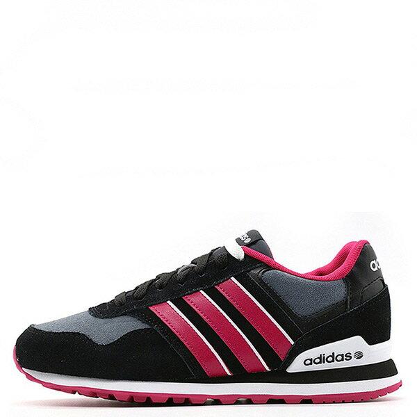 【EST S】Adidas Neo Runeo 10K F98275 復古慢跑鞋 黑灰桃紅 G1104
