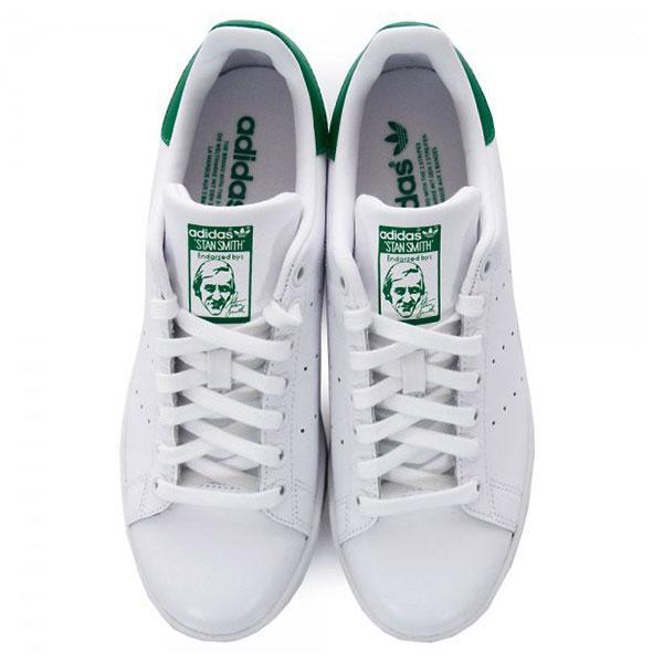 【EST S】Adidas Stansmith 白綠 男女鞋 M20324 G1018 2