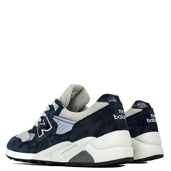 【EST S】New Balance M585BG 美國製 麂皮 皮革 網布 灰藍 男鞋 G1018 2