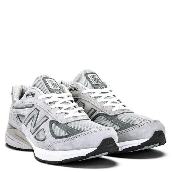 【EST S】New Balance M990Bk4 美國製 高機能 總統慢跑鞋 男鞋 灰 G1018 1
