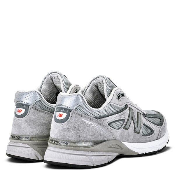 【EST S】New Balance M990Bk4 美國製 高機能 總統慢跑鞋 男鞋 灰 G1018 2