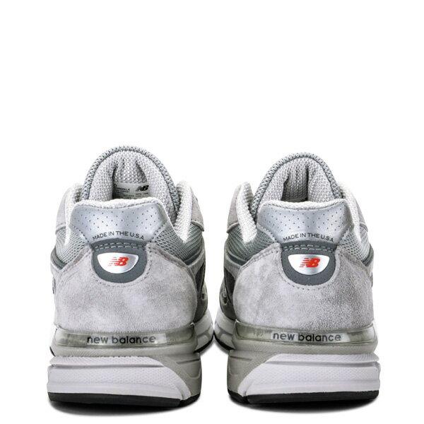 【EST S】New Balance M990Bk4 美國製 高機能 總統慢跑鞋 男鞋 灰 G1018 3