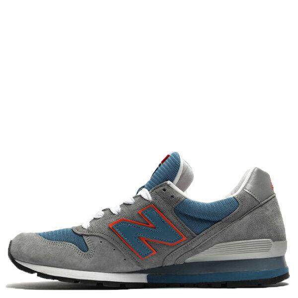 【EST S】New Balance M996CSBO 美國製 麂皮 復古 慢跑鞋 男鞋 灰藍 G1018 0