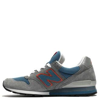 【EST S】New Balance M996CSBO 美國製 麂皮 復古 慢跑鞋 男鞋 灰藍 G1018