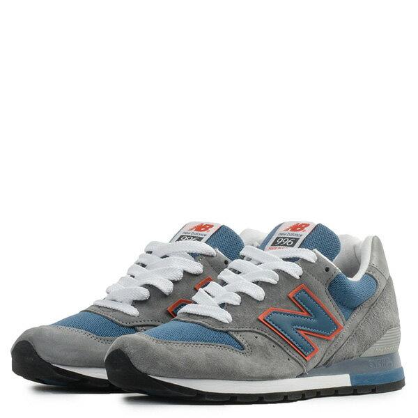 【EST S】New Balance M996CSBO 美國製 麂皮 復古 慢跑鞋 男鞋 灰藍 G1018 2