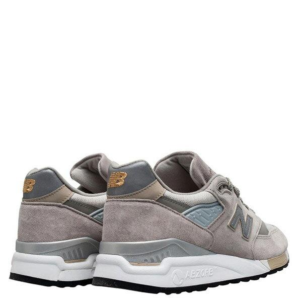 【EST S】New Balance M998 美國製 反光 麂皮 復古 慢跑鞋 男鞋 元祖灰 G1018 3