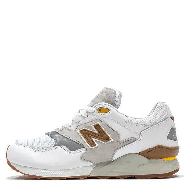 【EST S】New Balance ML878ATA 麂皮 膠底 反光 慢跑鞋 男鞋 白 G1018
