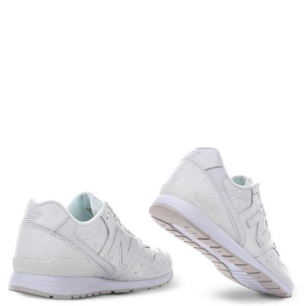 【EST S】New Balance MRL996MF 皮革 鱷魚紋 復古 慢跑鞋 男鞋 白 G1018 2