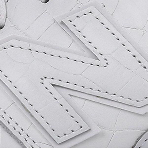 【EST S】New Balance MRL996MF 皮革 鱷魚紋 復古 慢跑鞋 男鞋 白 G1018 4