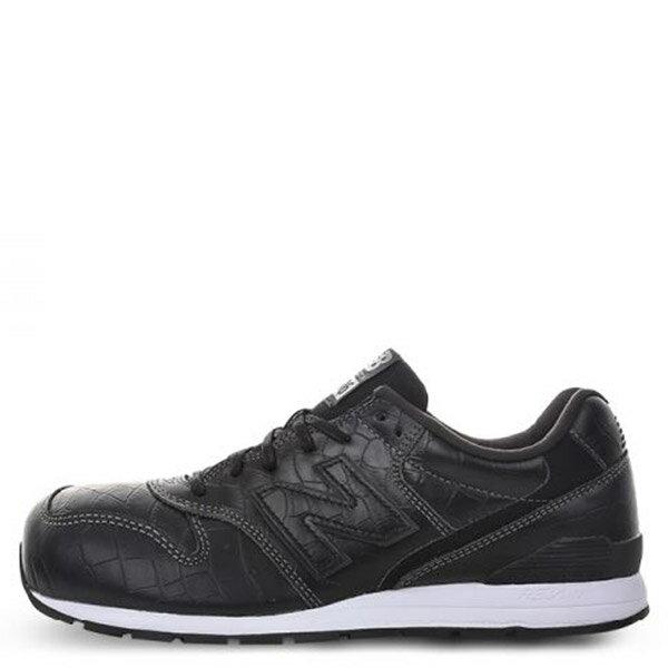 【EST S】New Balance MRL996MG 皮革 鱷魚紋 復古 慢跑鞋 男鞋 黑 G1018 0