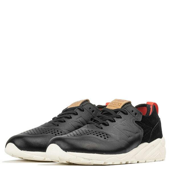 【EST S】New Balance MRT580DK 麂皮 皮革 無縫線 慢跑鞋 男鞋 黑 G1018 1