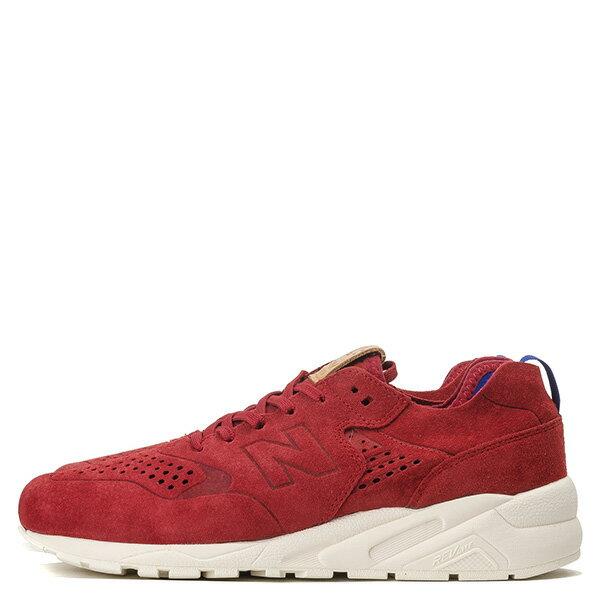 【EST S】New Balance MRT580DR 麂皮 皮革 無縫線 慢跑鞋 男鞋 紅 G1018 0