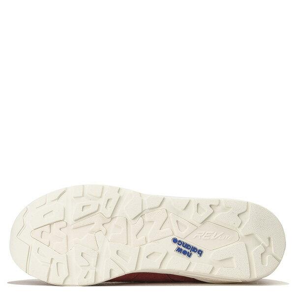 【EST S】New Balance MRT580DR 麂皮 皮革 無縫線 慢跑鞋 男鞋 紅 G1018 3