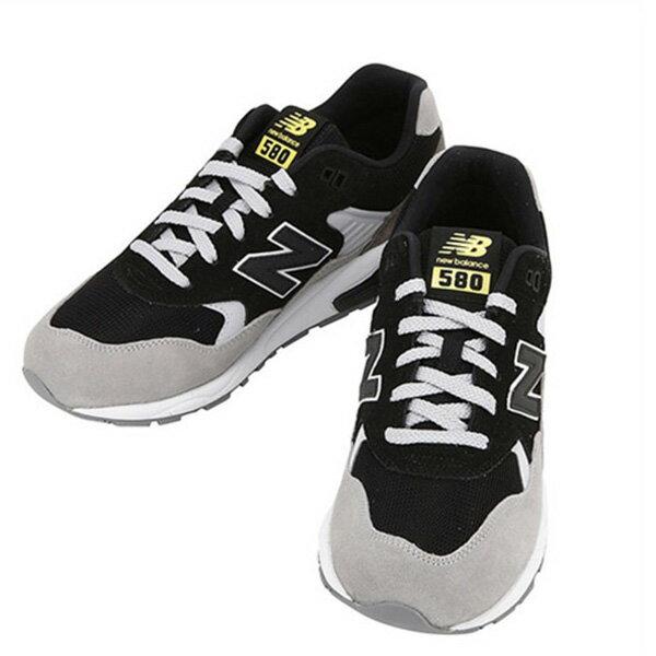 【EST S】New Balance MRT580LF 麂皮 網布 復古 慢跑鞋 男鞋 黑灰 G1018 1