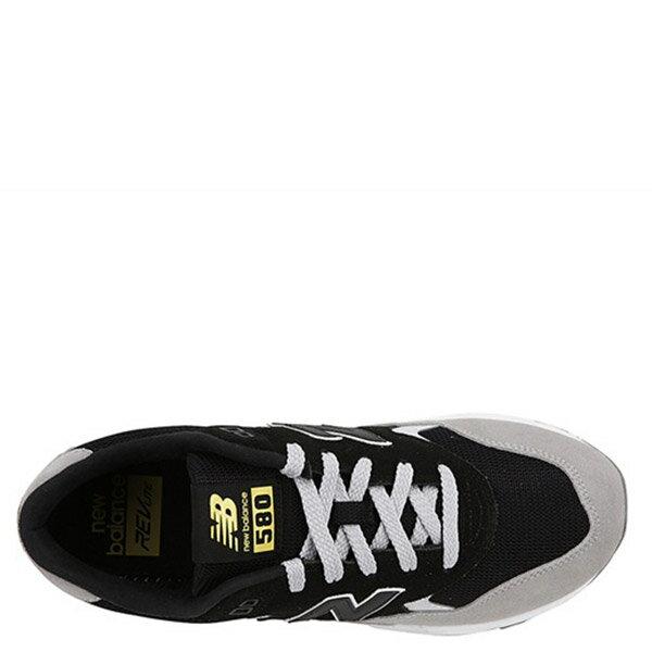 【EST S】New Balance MRT580LF 麂皮 網布 復古 慢跑鞋 男鞋 黑灰 G1018 2