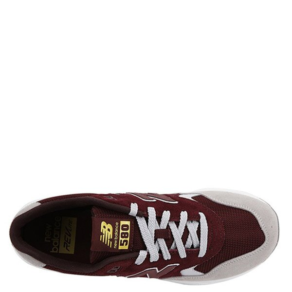【EST S】New Balance MRT580LH 麂皮 網布 復古 慢跑鞋 男鞋 酒紅 G1018 2
