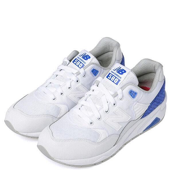 【EST S】New Balance MRT580MJ 麂皮 彩虹鞋墊 復古 慢跑鞋 男鞋 白藍 G1018 1