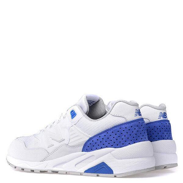 【EST S】New Balance MRT580MJ 麂皮 彩虹鞋墊 復古 慢跑鞋 男鞋 白藍 G1018 3