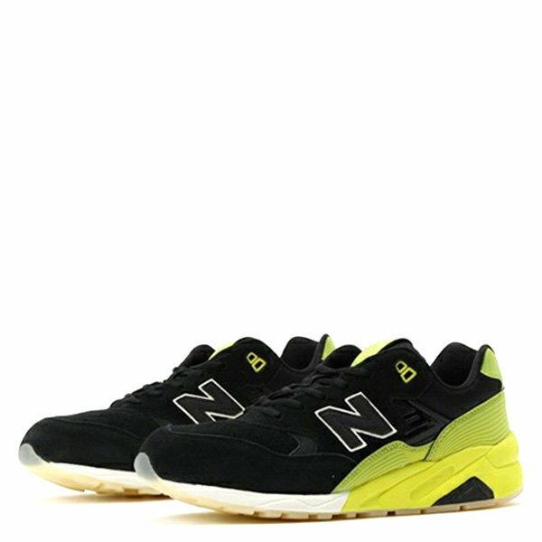 【EST S】New Balance MRT580UG 反光 果凍底 麂皮 慢跑鞋 男鞋 黑黃 G1018 1