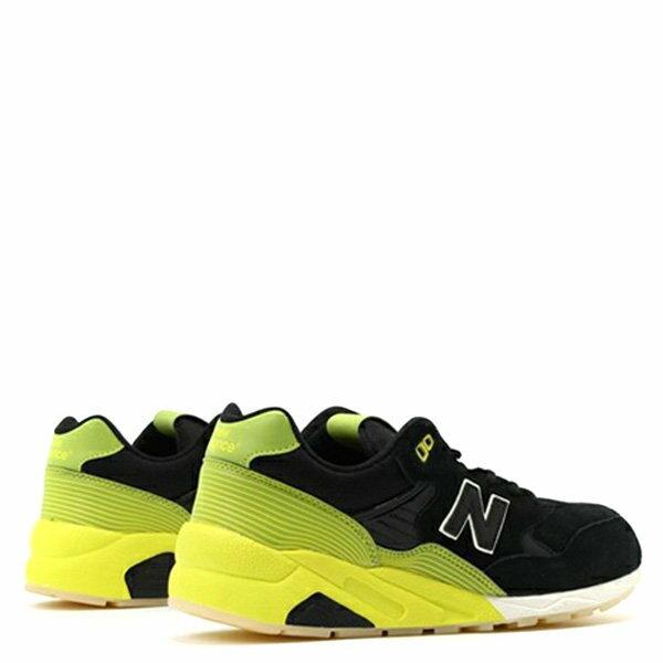 【EST S】New Balance MRT580UG 反光 果凍底 麂皮 慢跑鞋 男鞋 黑黃 G1018 3