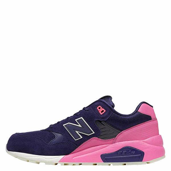 【EST S】New Balance MRT580UP 反光 果凍底 麂皮 慢跑鞋 男鞋 粉紫 G1018 0