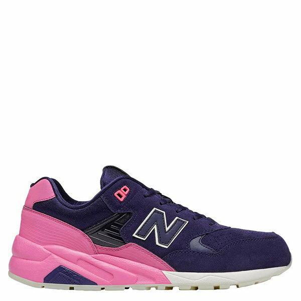 【EST S】New Balance MRT580UP 反光 果凍底 麂皮 慢跑鞋 男鞋 粉紫 G1018 1
