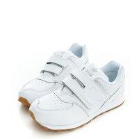 New Balance 美國慢跑鞋/跑步鞋推薦【EST S】New Balance KV574G8Y 574 皮革 魔鬼氈 慢跑鞋 童鞋 全白 G1223