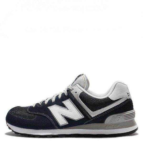 【EST S】New Balance 574系列 ML574VIC D楦 復古慢跑鞋 深藍 男鞋 G1125