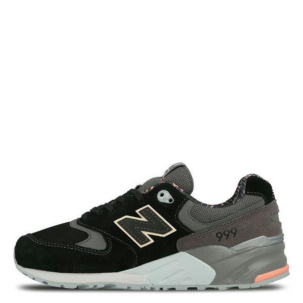 【EST S】New Balance WL999TA 999 潑墨 慢跑鞋 黑灰 粉橘 女鞋 H0112