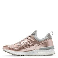 New Balance 美國慢跑鞋/跑步鞋推薦【EST S】New Balance WS574SFF WS574 復古 慢跑鞋 女鞋 金屬粉 H1012