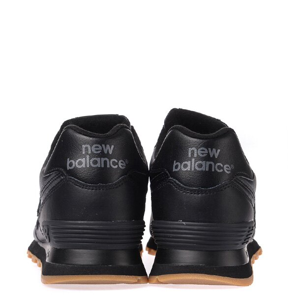 【EST S】New Balance NB574BAB 皮革 膠底 復古 慢跑鞋 男鞋 黑 G1018 2