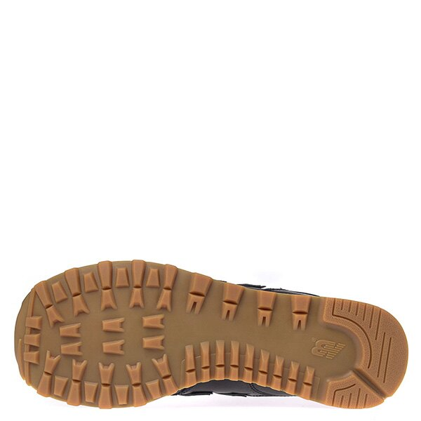【EST S】New Balance NB574BAB 皮革 膠底 復古 慢跑鞋 男鞋 黑 G1018 4