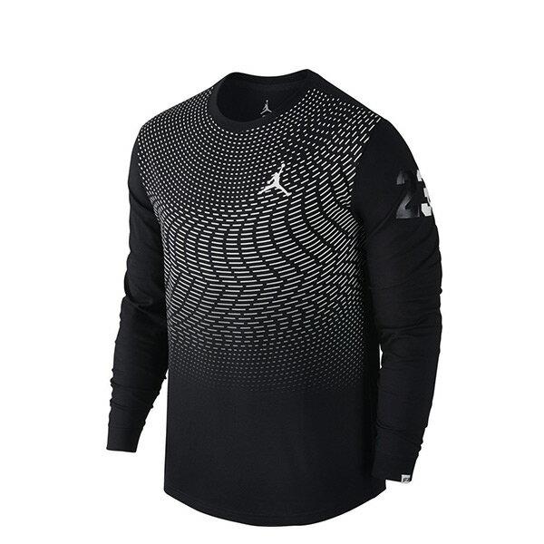 【EST S】Nike Jordan Cp3 All Signs 801567-010 運動 長Tee黑 G1223