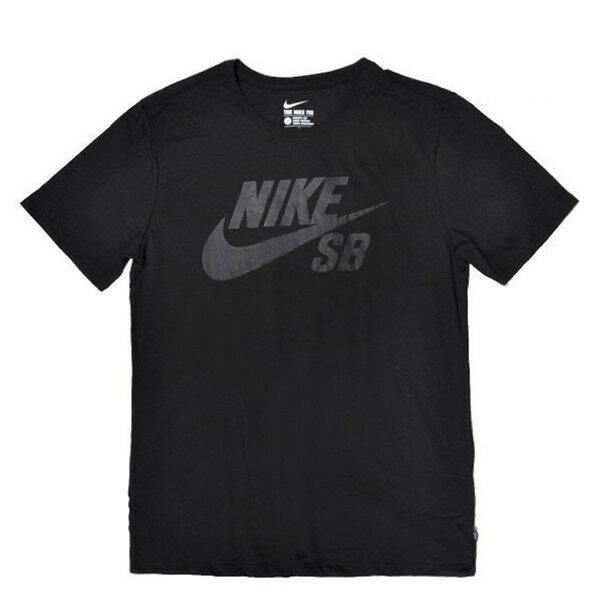 【EST S】Nike Sb Dri-Fit 大Logo 821947-010 排汗 運動 短Tee黑 G1205