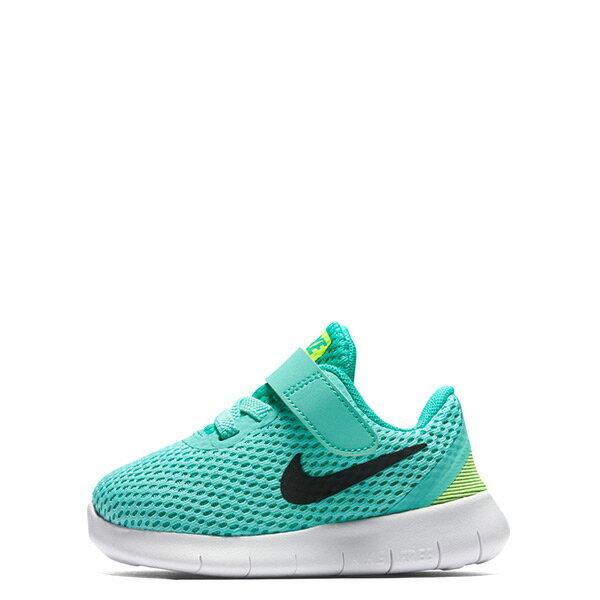 ~EST S~Nike Free Rn 834042~300 魔鬼氈 鞋 青綠黑白 小童鞋