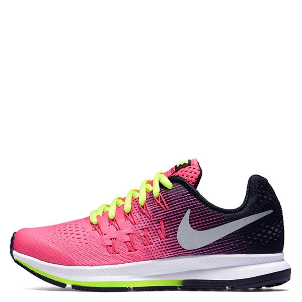【EST S】Nike Zoom Pegasus 33 834317-601 輕量慢跑鞋 粉黑 大童鞋 G1116