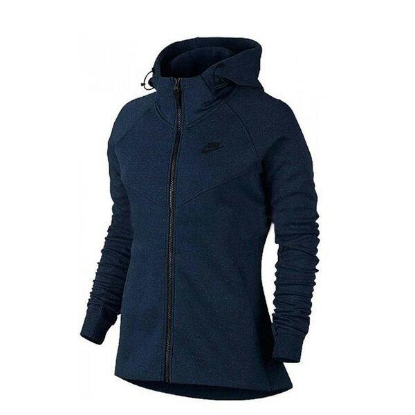 【EST S】Nike Tech Fleece 842846-451 刷毛 運動 外套 女款 藍 G1119