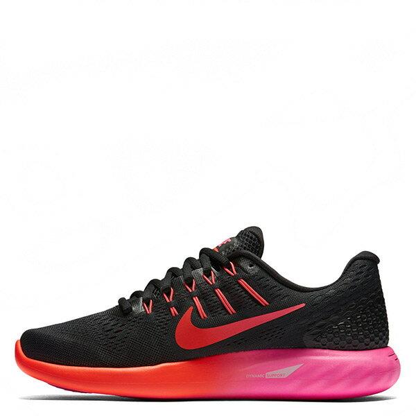 【EST S】Nike Lunarglide 8 843726-006 慢跑鞋 黑桃紅 3M反光 女鞋 G1116