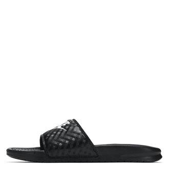 【EST S】Nike Wmns Benassi Swoosh 343881-011 菱紋 拖鞋 女鞋 H0516