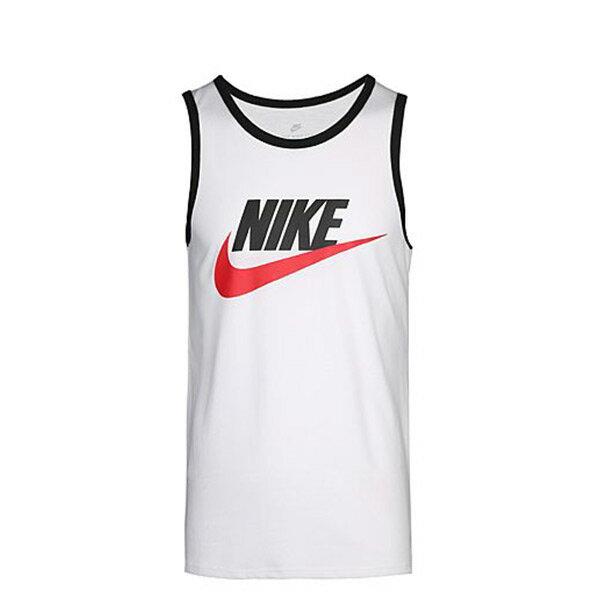 【ESTS】NikeAceSwooshLogoTankTop779235-102背心白I0531