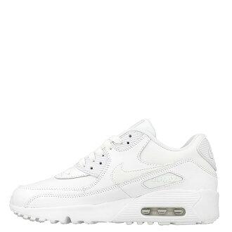 【EST S】Nike Air Max 90 GS 833412-100 慢跑鞋 女鞋 全白 H0428