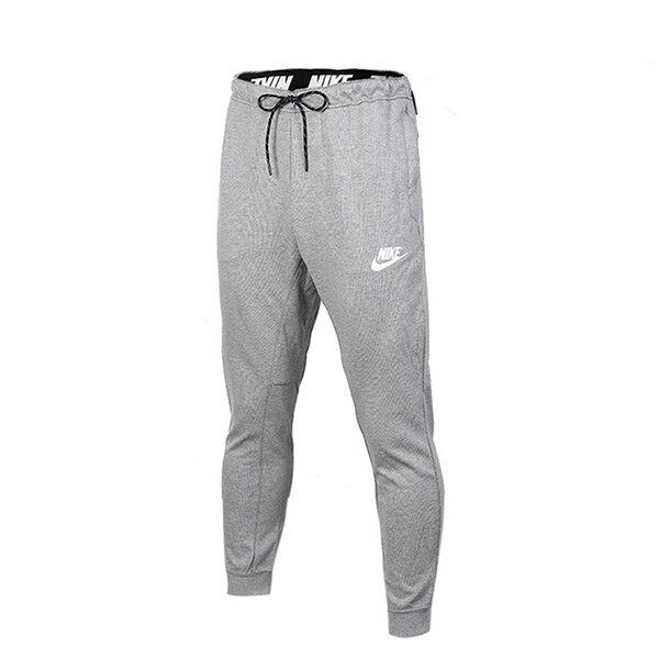 【EST S】Nike Nsw Slim Fit 861747-071 棉質 運動 長褲 淺灰 H1020