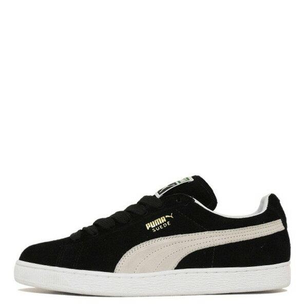 【EST S】Puma Suede Classic+ 352634-03 金標 麂皮 男女鞋 黑金 G1205