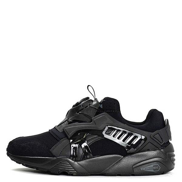 【EST S】Puma Disc Blaze 361966-02 轉盤 襪套 武士鞋 男鞋 全黑 G1205