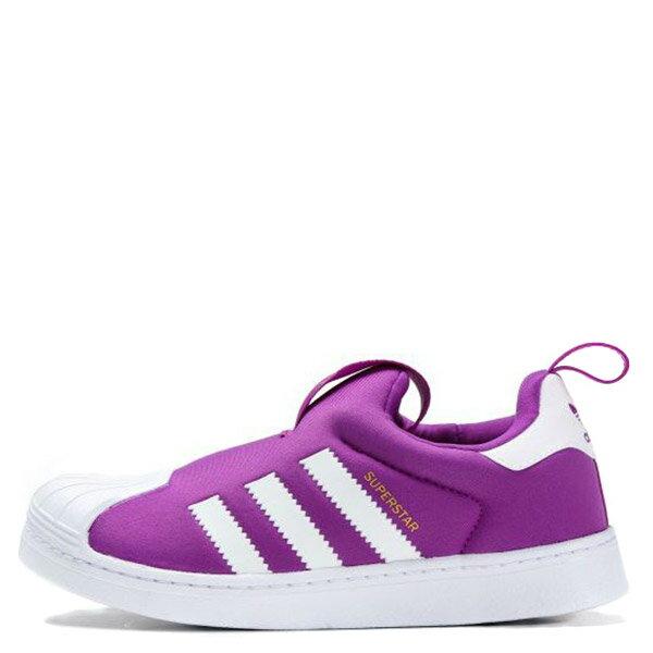 【EST S】Adidas Superstar 360 C 無鞋帶式襪套休閒鞋 金標紫白 G1026